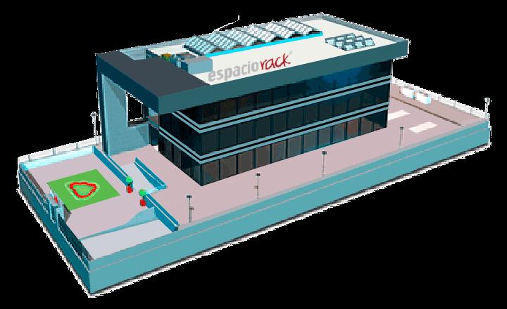 Centro de Datos de Espaciorack ubicado en Madrid