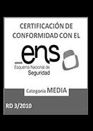 Certificado ENS de Espaciorack
