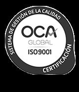 Certificado de Calidad 9001 de Espaciorack